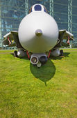 Front Profile Jet Fighter — Stock Photo