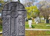 ケルト族の墓地の石 — ストック写真