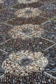 Asian stone mosaics — Stock Photo