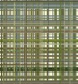 幾何学的な縞模様とグリッド都市産業建設 — ストックベクタ