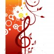 Music poster — Stock Vector #11227109