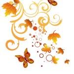 Autumn design — Stock Vector