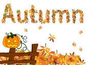Conception de l'automne — Vecteur
