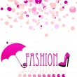 Stock Vector: Fashion vector background