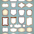 Royalty-Free Stock Vector Image: Set of ornate frames. Vector illustration