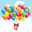 Royalty-Free Stock Vector Image: Party balloons. Vector illustration