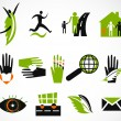 Collection creative icon. Vector illustration — Stock Vector
