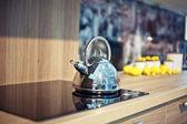 Shiny kettle — Stock Photo
