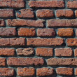 Red brick grunge wall background — Stock Photo