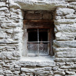 Antique window — Stockfoto