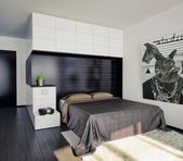Bedroom interior — Stock Photo