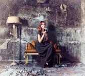 Mulhe bonita — Fotografia Stock