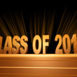 Class of 2012 — Stock Photo