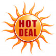 Royalty-Free Stock Photo: Hot deal