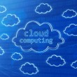 Cloud computing — Stock Photo #10832463