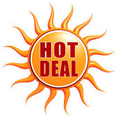 Hot deal — Stock Photo