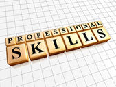 Professional skills — Stock Photo