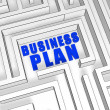 Business plan — Stock Photo #10894098