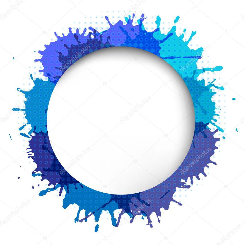 Как делают на фото круг с надписью