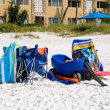Beach Items - Stock Photo