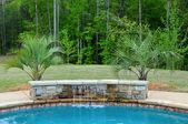 Zwembad water functie — Stockfoto