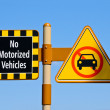 No Motorized Vehicles — Foto Stock #11584643