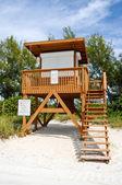 Lifeguard Station — Stock Photo