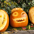 Halloween pumpkins — Stock Photo #11640274