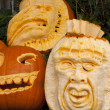 Halloween pumpkins — Stock Photo #11640406