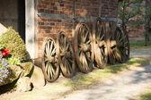 многие колесом — Стоковое фото