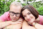 Man and Woman Portrait — Stock Photo