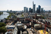 Landscape of Frankfurt — Stock Photo