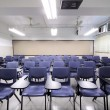 Empty classroom with chair and board — Stock Photo #11376792