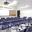 Empty classroom with chair and board — Stock Photo #11471501