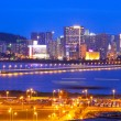 Macau cityscape of bridge and skyscraper Macao, Asia. — Stock Photo