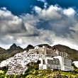 Mojacar Village in HDR — Stock Photo