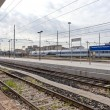Stock Photo: PortVescovo Railway Station
