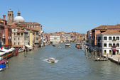 Cityscape from the Grand Canal in Venice — Stock fotografie