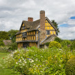 Gatehouse at Stokesay Castle — Stock Photo