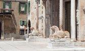 Entrance to Verona Cathedral — Stock Photo