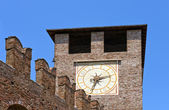 Museum Castelvecchio — Stock Photo