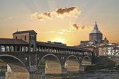 Pavia görünümü — Stok fotoğraf