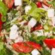 Fresh salad with mozarella — Stock Photo #11005617