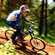 Mountain bike extreme competition - Foto de Stock