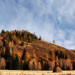 Autumn landscape in mountains — Stock Photo