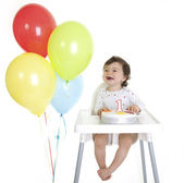 Baby's 1st Birthday — Stock Photo
