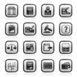 Stock exchange and finance icons — Stockvektor #10948488