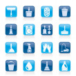 Cleaning and hygiene icons — Vettoriale Stock  #11380624
