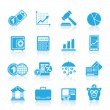 Stock Vector: Business and finance icons