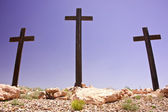 Crosses of Calvary Hill — Stock Photo